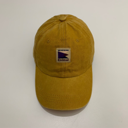 Enimal Washed Dad Hat – Yellow